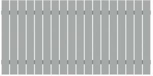 TraumGarten Squadra lichtgrau 180 x 90 cm