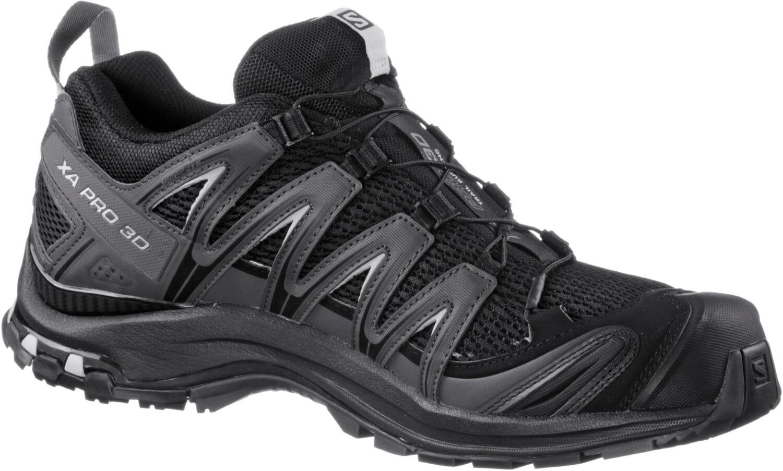 Damen|Herren Salomon Sneakers | XA PRO 3D Black / Red