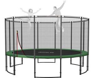 ampel 24 deluxe trampolin 430 cm mit netz ab 499 00 preisvergleich bei. Black Bedroom Furniture Sets. Home Design Ideas