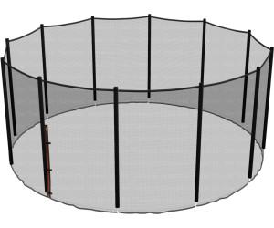ampel 24 sicherheitsnetz 430 cm f r 12 stangen ab 74 00 preisvergleich bei. Black Bedroom Furniture Sets. Home Design Ideas