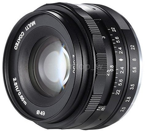Image of Meike 50mm f2 [Sony E]