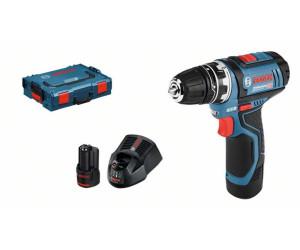 Bosch Batterie-Visseuse GSR 12v-15 FC Avec 2x 2,0ah L-Boxx flexiclick