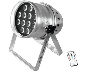 Eurolite LED PAR-64 HCL 12x10W Floor sil (51914026)