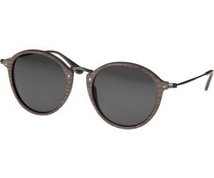 Wood Fellas Sunglasses Nymphenburg black oak/grey 51-22 in black oak/grey KCWOe2