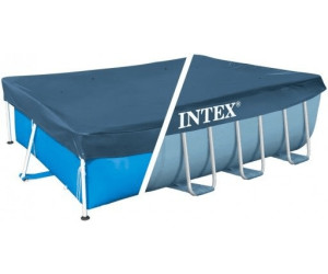 intex abdeckplane frame pool 400 x 200 cm 28037 ab 9 06 preisvergleich bei. Black Bedroom Furniture Sets. Home Design Ideas
