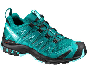 Salomon XA Lite GTX W, Scarpe da Trail Running Donna, Nero (Black/Magnet/Fair Aqua 000), 40 EU