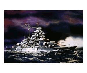 Maßstab 1:1200 Revell Modellbausatz Schiff Bismarck Nr.: 05802 Level 3