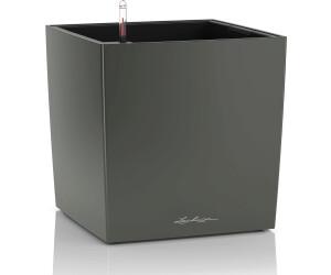 Lechuza Übertopf CUBE Premium 30 schwarz hochglanz, 29,5 x