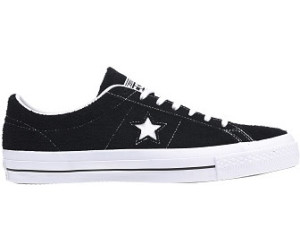 Converse One Star Suede Ox Mens 10 Suede Triple Black LowTop