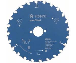 190 x 30 x 2.6 mm Bosch Kreissägeblatt Expert for Wood 24