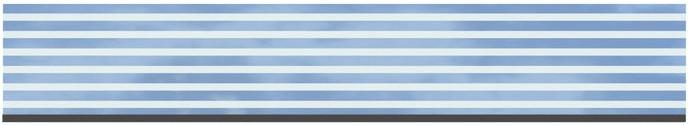 TraumGarten Glas Delta Dekorprofil 180 x 30 cm