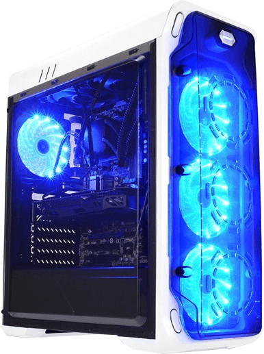 Image of LC Power Gaming 988W - Blue Typhoon