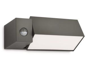 E27 Philips Wandleuchten Außen /'Hedgehog/' Aluminium Modern A++