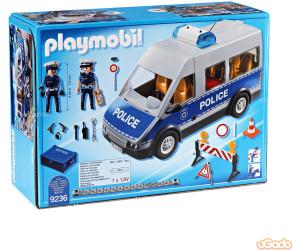 playmobil city action polizeibus mit stra ensperre 9236 ab 27 98 november 2019 preise. Black Bedroom Furniture Sets. Home Design Ideas