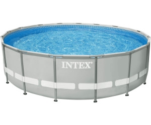 Marvelous Intex Ultra Frame Pool Ø 549 X 132 Cm Mit Sandfilter Komplett Set (