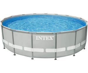 Intex ultra frame 549 x 132 cm au meilleur prix sur for Piscine 5 x 3