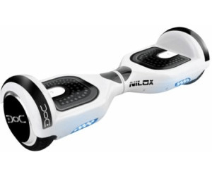 nilox doc hoverboard 6 5 white ab 199 99. Black Bedroom Furniture Sets. Home Design Ideas