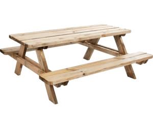 Forest style table pique nique matisse au meilleur prix sur - Plan de table de pique nique ...