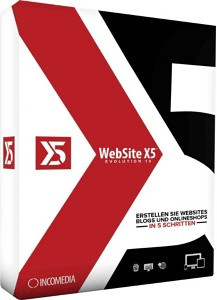 Incomedia WebSite X5 13 Evolution (Box)