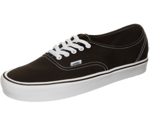 Vans Authentic Lite Canvas Shoes (black white)