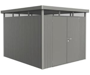 biohort highline gr h5 dt 275 x 315 cm quarzgrau metallic ab preisvergleich bei. Black Bedroom Furniture Sets. Home Design Ideas