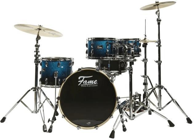 Fame Fire Studio ShellSet 4200 Blue Fade Sparkle