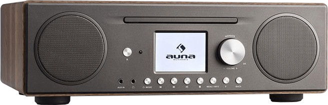 Auna Connect CD Walnuss