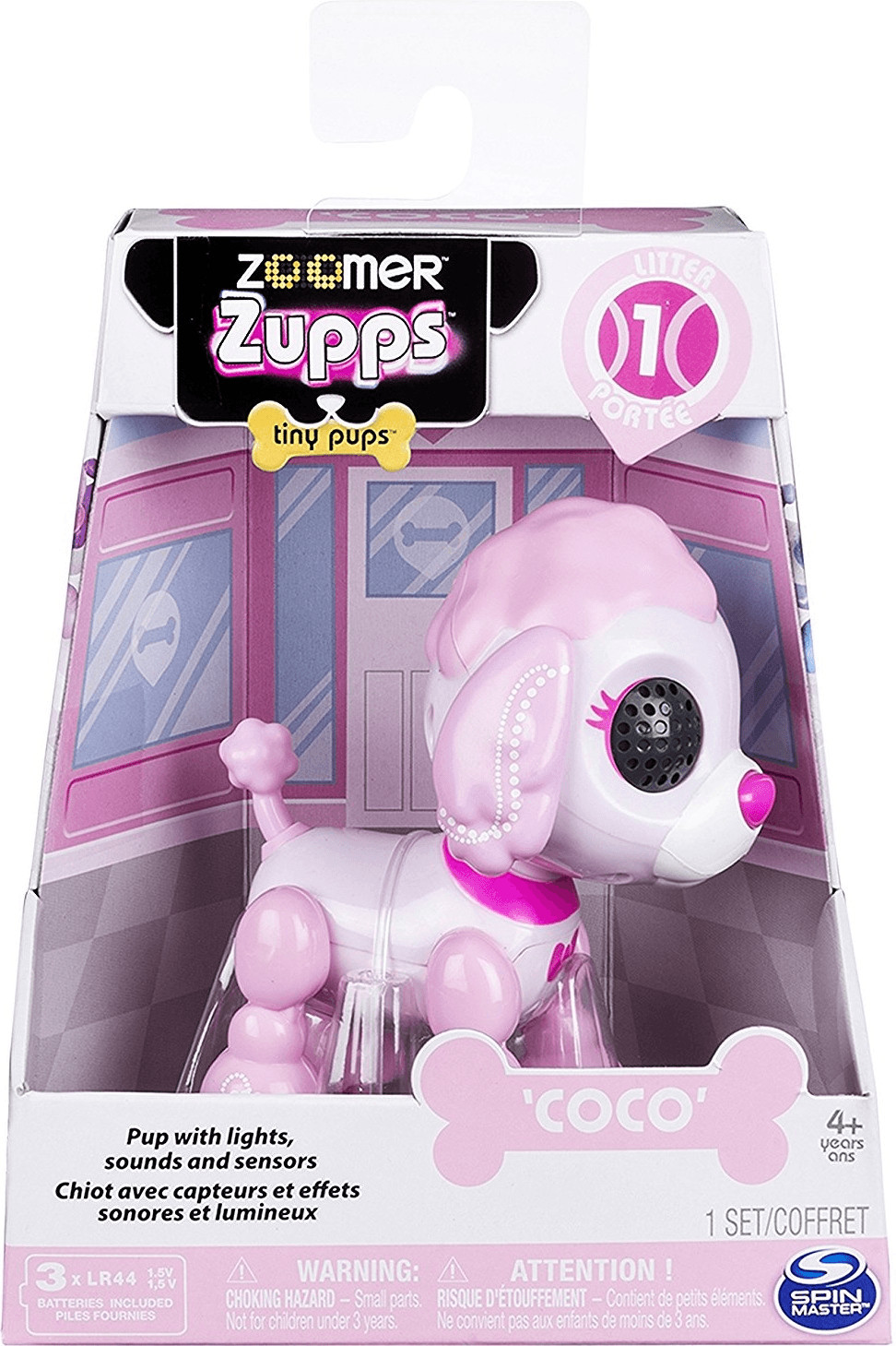 Spin Master Zoomer Zupps - Poodle Coco