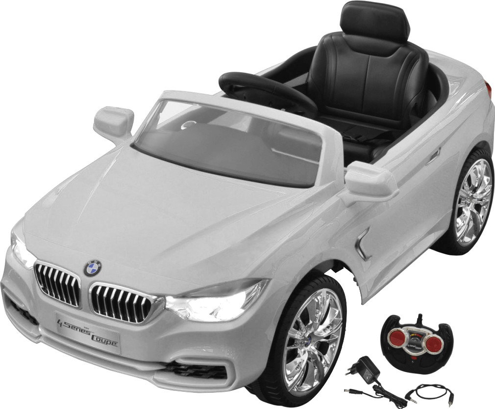 vidaXL Elektroauto mit Fernbedienung weiß