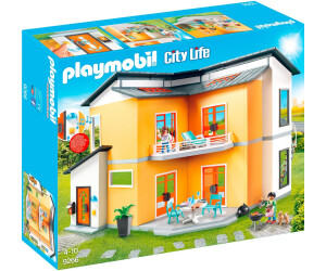 City life modernes wohnhaus 9266 for Playmobil modernes haus 9266