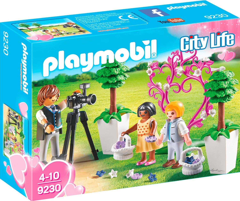 Playmobil City Life - Fotograf mit Blumenkindern (9230)