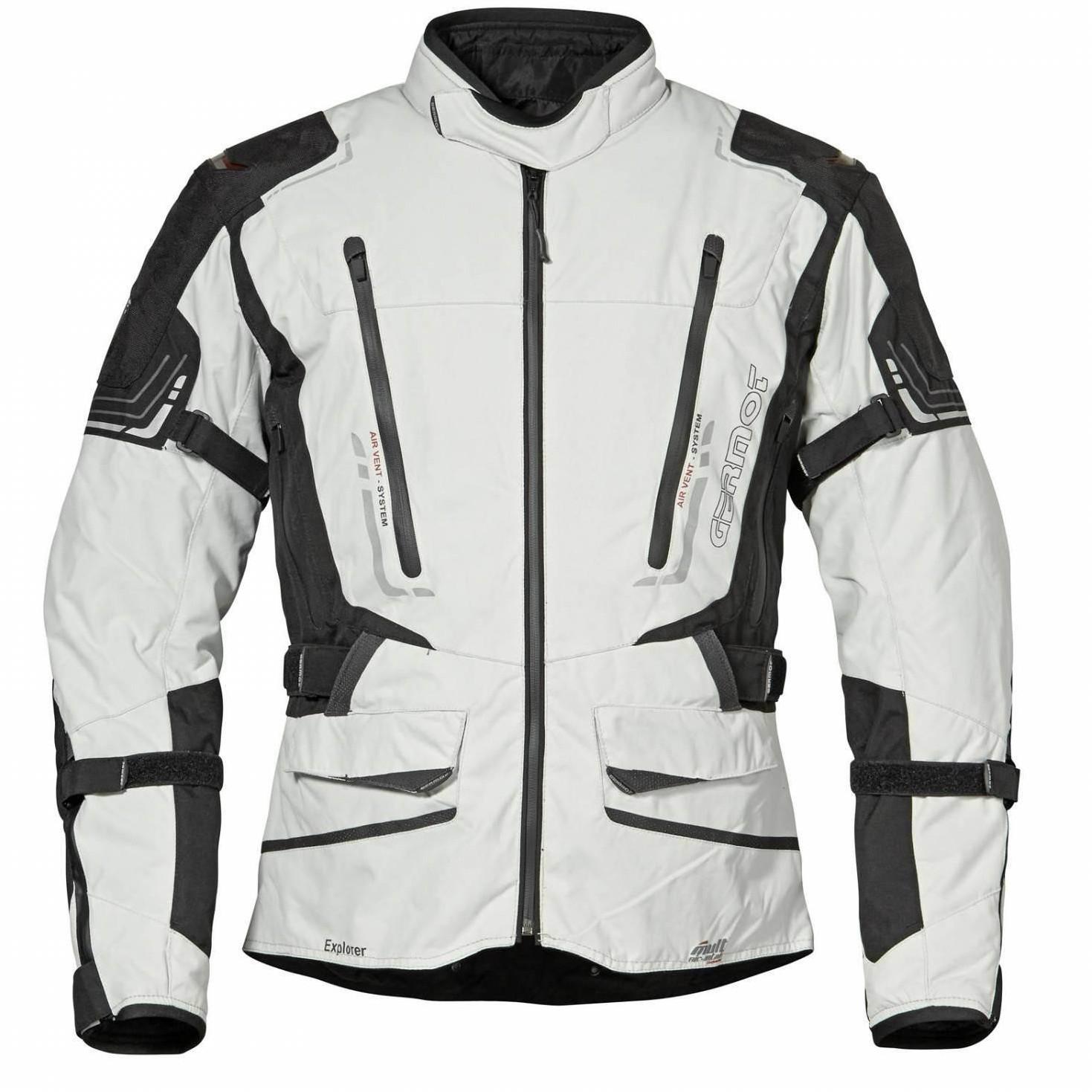 Germot Explorer Jacket light grey/black