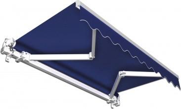 Jarolift Gelenkarmmarkise 250 x 150 cm blau uni