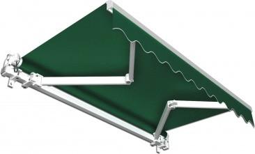 Jarolift Gelenkarmmarkise 250 x 150 cm grün uni