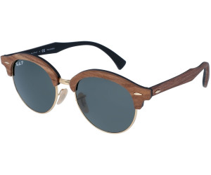 77a865ddd8 Ray-Ban Clubround Wood RB4246M 118158 (brown polarized green classic ...