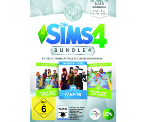 Die Sims 4: Bundle 4 - Vampire + Kinderzimmer-Accessoires + ...