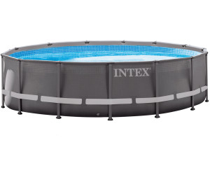 intex ultra frame pool 488 x 122 cm ab 354 90 preisvergleich bei. Black Bedroom Furniture Sets. Home Design Ideas