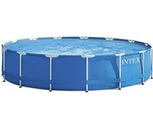 intex metal frame pool 457 x 122 cm ab 248 00 preisvergleich bei. Black Bedroom Furniture Sets. Home Design Ideas