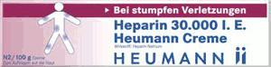 Heparin 30 000 Creme (100 g)