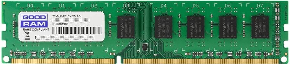 Image of GoodRAM 4GB DDR3-1333 CL9 (GR1333D364L9S/4G)