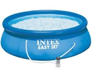 intex easy pool 457 x 107 cm mit kartuschenfilter komplett set 28166 ab 163 90. Black Bedroom Furniture Sets. Home Design Ideas