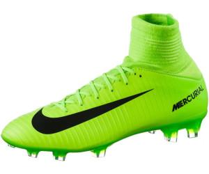 cde2fd3ec ... electric green flash lime white black. Nike Jr. Mercurial Superfly V FG