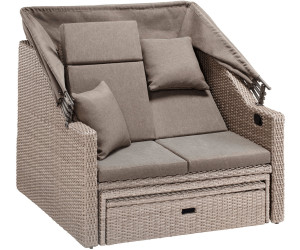 merxx rimini bank multifunktional natur rustikal braun. Black Bedroom Furniture Sets. Home Design Ideas