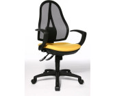 Bürostuhl Schreibtischstuhl Drehstuhl Topstar Open Point SY blau chrom B-Ware