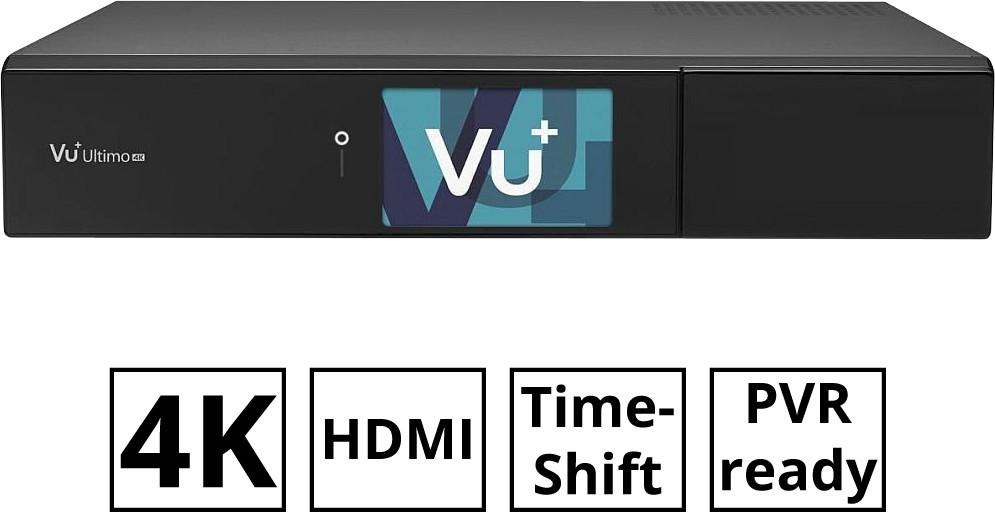 #Vu+ Ultimo 4K DVB-S2 + DVB-C/T2 PVR ready#