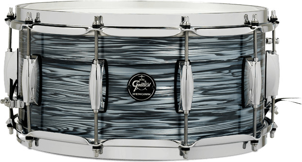 """Gretsch Renown Maple Snare 6.5"""" x 14"""" Silver Oyster Pearl"""
