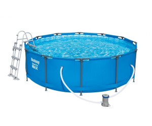 Bestway steel pro frame pool 366 x 100 cm ab 199 99 for Garten pool 366