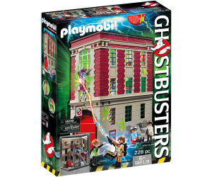 playmobil ghostbusters feuerwache 9219 ab 48 79. Black Bedroom Furniture Sets. Home Design Ideas