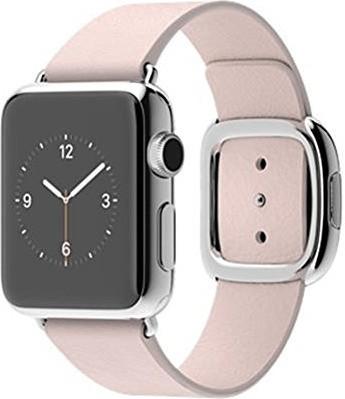 Apple Watch 38mm Lederarmband soft pink Medium