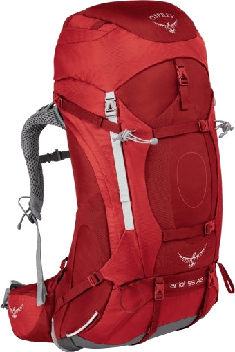 Osprey Ariel AG 55 S picante red